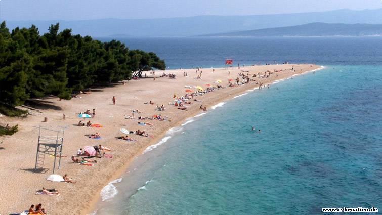 Kroatien foto - Brač Strand