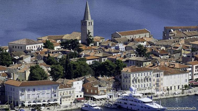 Touristische Attraktion Porec